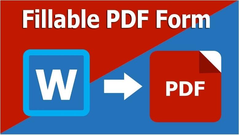 make a fillable pdf