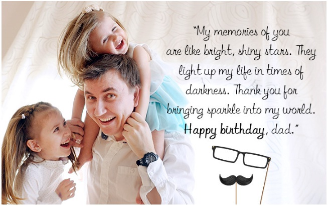 Birthday Wishes For Your Dad