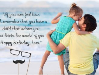 happy birthday quote to dad