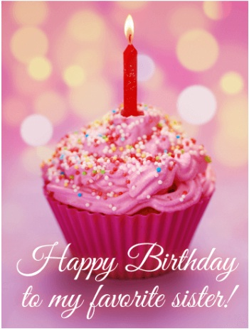 happy birthday sister images with quotes