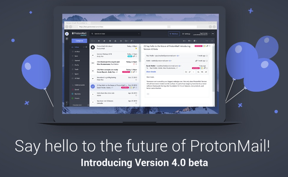 protonmail email providers